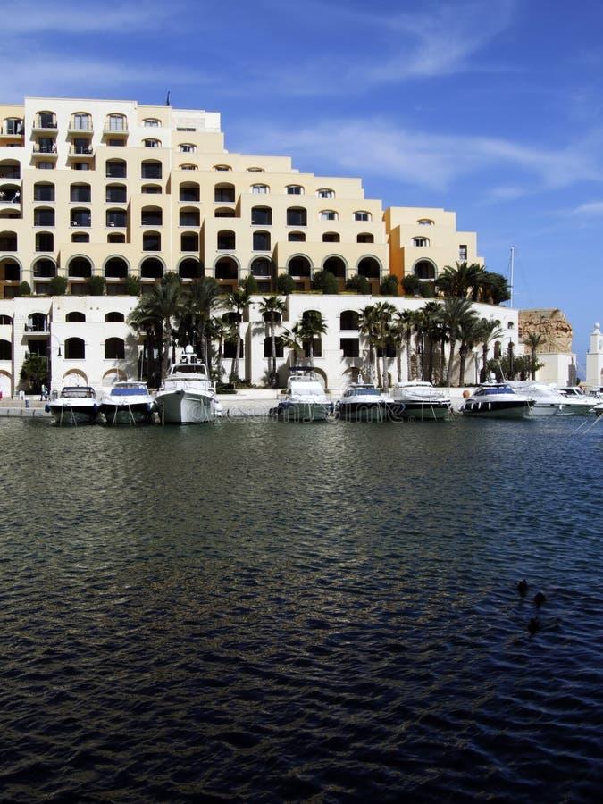 luksusowy marina zdjęcia royalty free