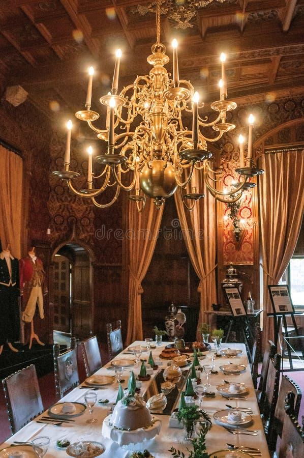 Download Luksusowy Meble W De Haar Roszujący Jadalni Blisko Utrecht, Fotografia Editorial - Obraz złożonej z świecznik, daleko: 106907257