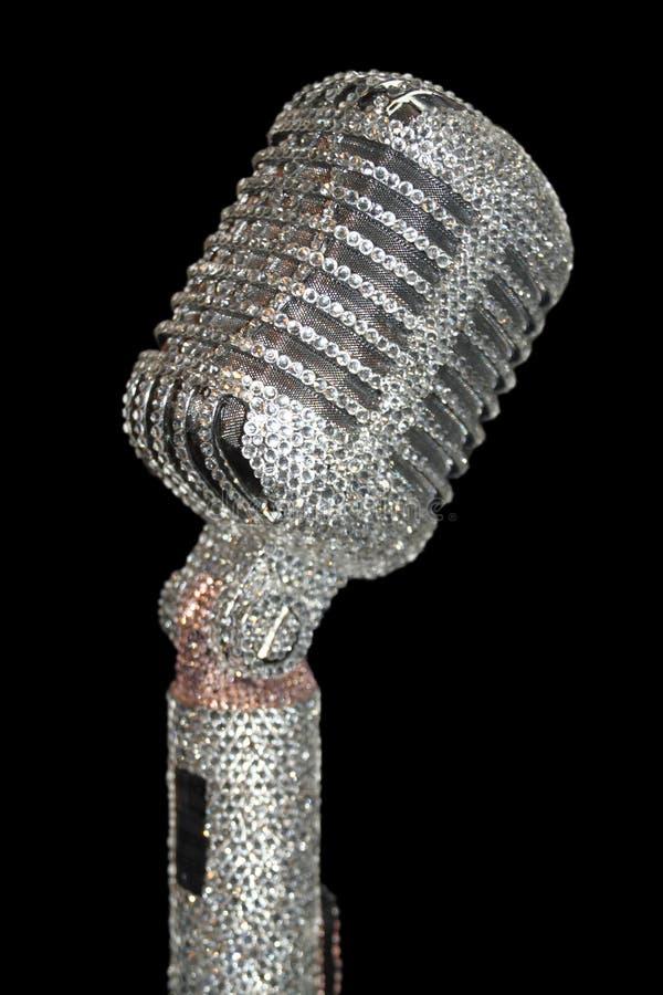 luksusowy mikrofon zdjęcie royalty free