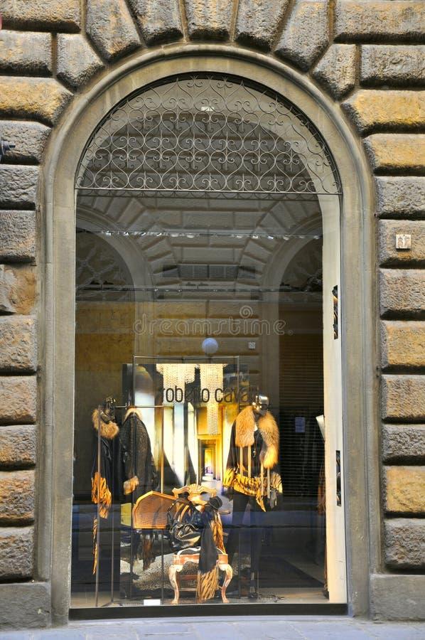 luksusowy moda sklep obraz stock