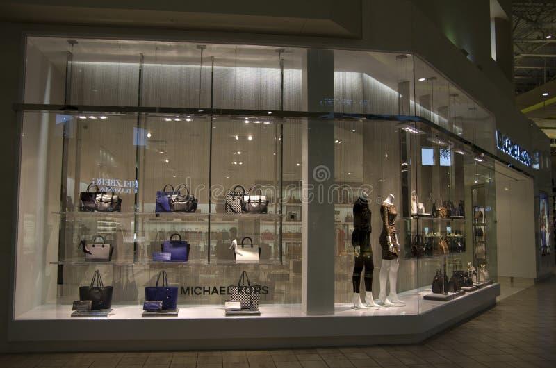 Luksusowy moda sklep obrazy royalty free
