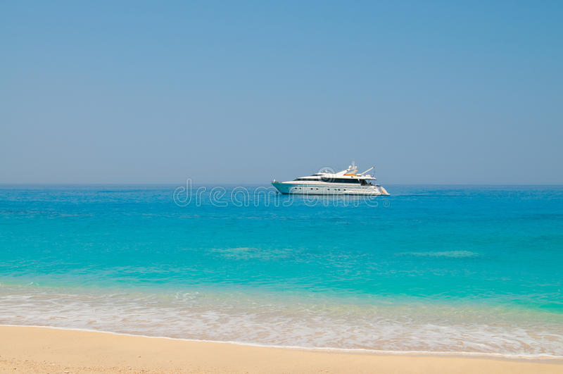 luksusowy morze obrazy stock