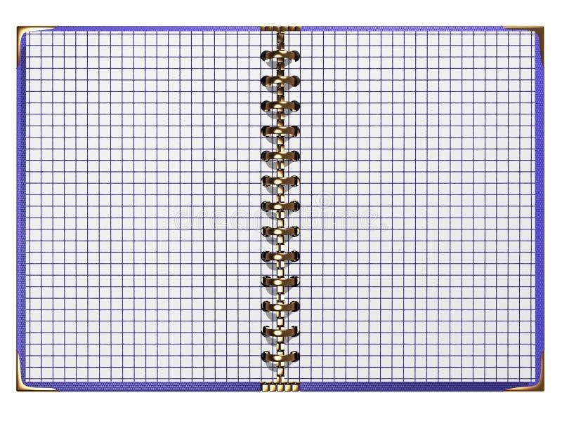 luksusowy notatnik zdjęcie royalty free