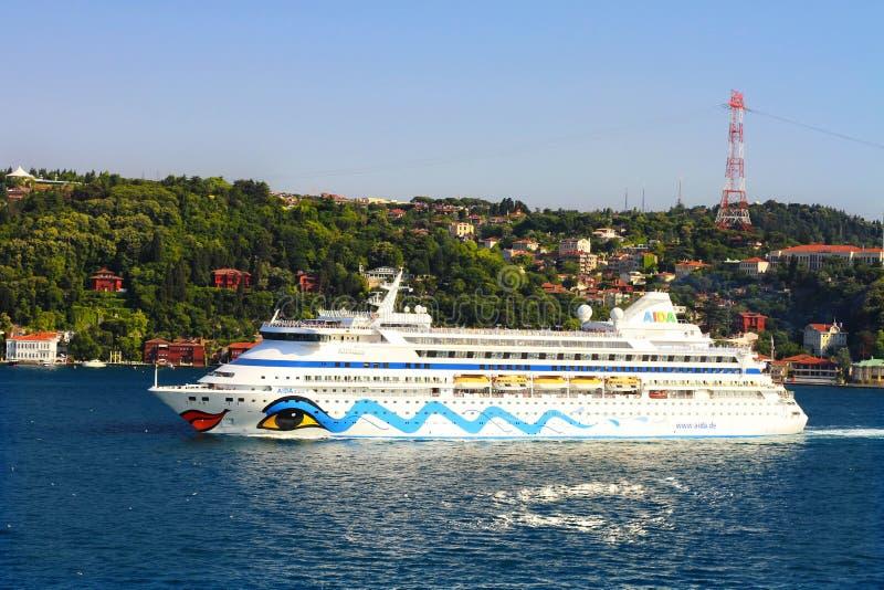 Luksusowy Pasażerski Statek zdjęcie stock
