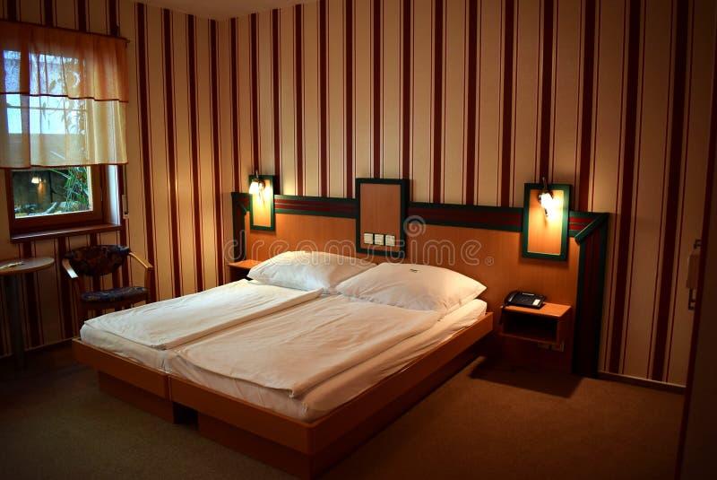 Luksusowy pokój hotelowy obrazy stock