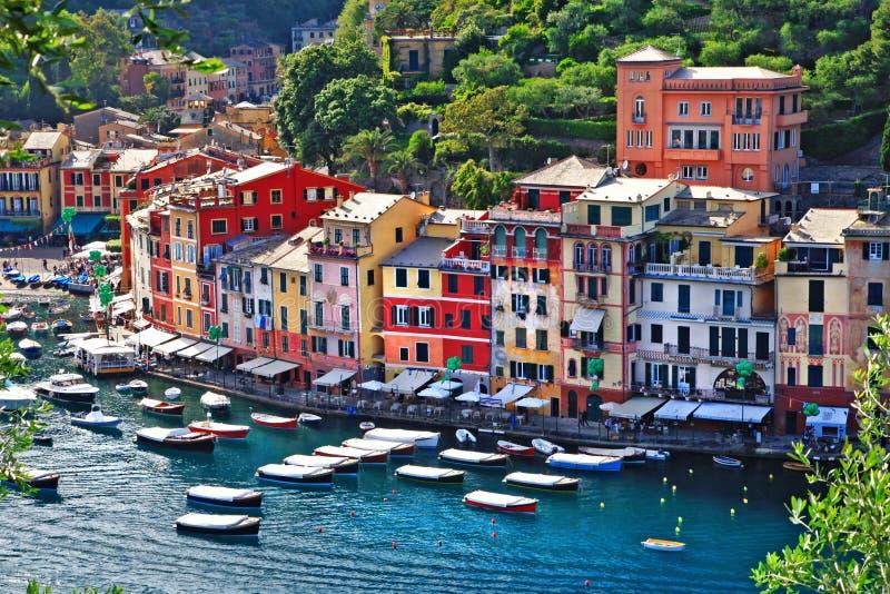Luksusowy Portofino, Liguria zdjęcie stock