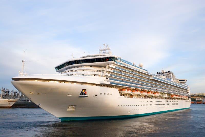 luksusowy rejs statkiem obrazy stock