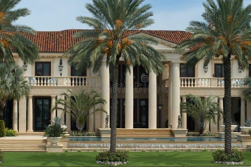 luksusowy rezydencji. obraz royalty free