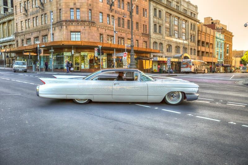 Luksusowy rocznika klasyk Cadillac obrazy royalty free