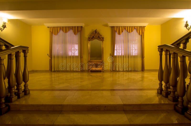 Luksusowy schody zdjęcia royalty free