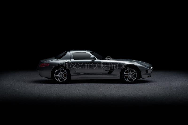 Luksusowy sporta samochód zdjęcia royalty free