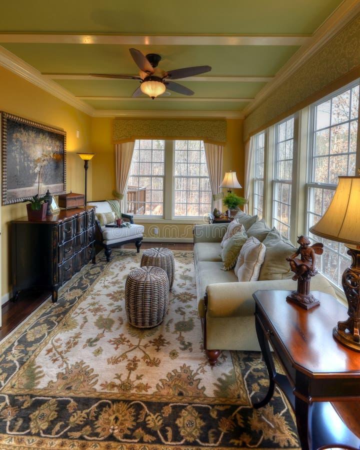 luksusowy sunroom obrazy stock