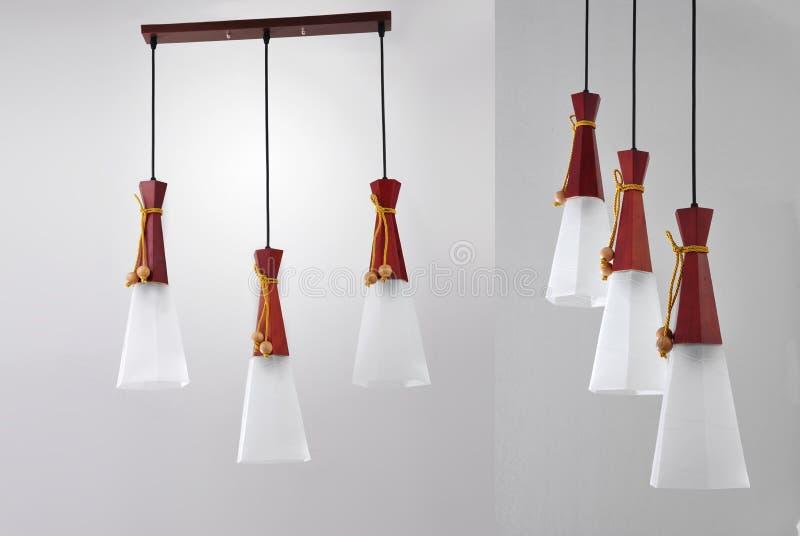 Luksusowy sztuka świecznik, dowodzony podsufitowy światło, dowodzona breloczek lampa, krystaliczny chandelierï ¼ Œceiling oświetl zdjęcia stock