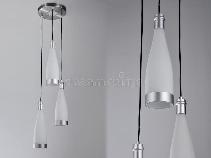 Luksusowy sztuka świecznik, dowodzony podsufitowy światło, dowodzona breloczek lampa, krystaliczny chandelierï ¼ Œceiling oświetl zdjęcie royalty free