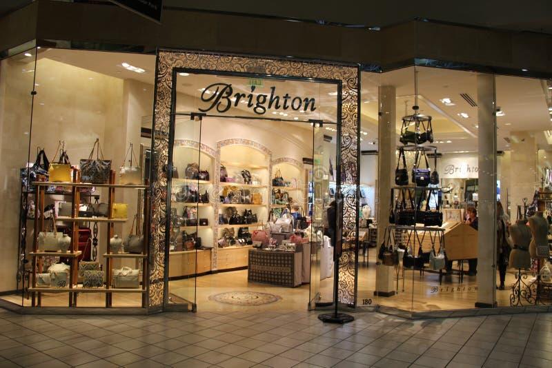Luksusowy torebki mody sklep obraz royalty free