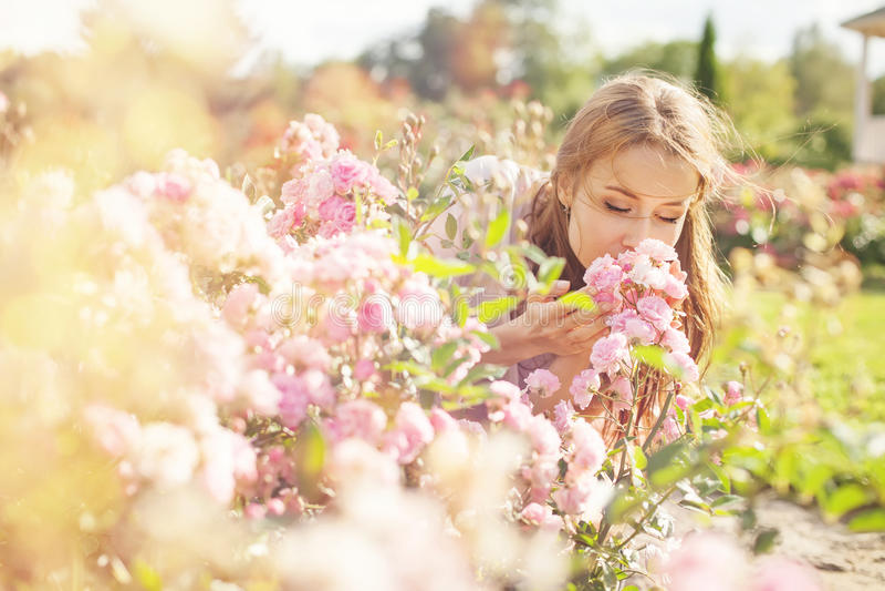 Lukt av blomman arkivfoto