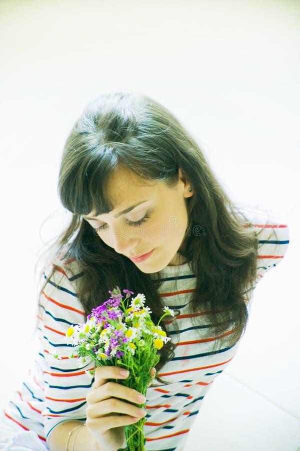 lukta för blommor arkivbild