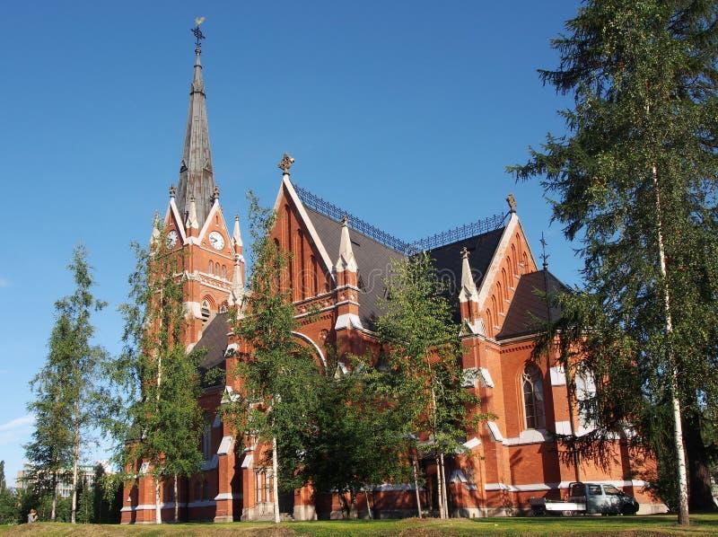 Luleå church royalty free stock image