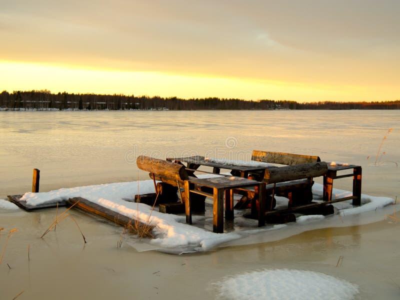 Lulea sjö arkivbilder
