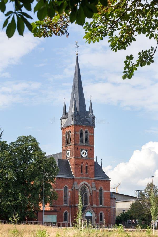 Lullus-sturmius教会坏hersfeld德国 免版税库存照片