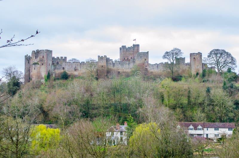 Lulow-Schloss, Shropshire, Großbritannien lizenzfreie stockfotografie
