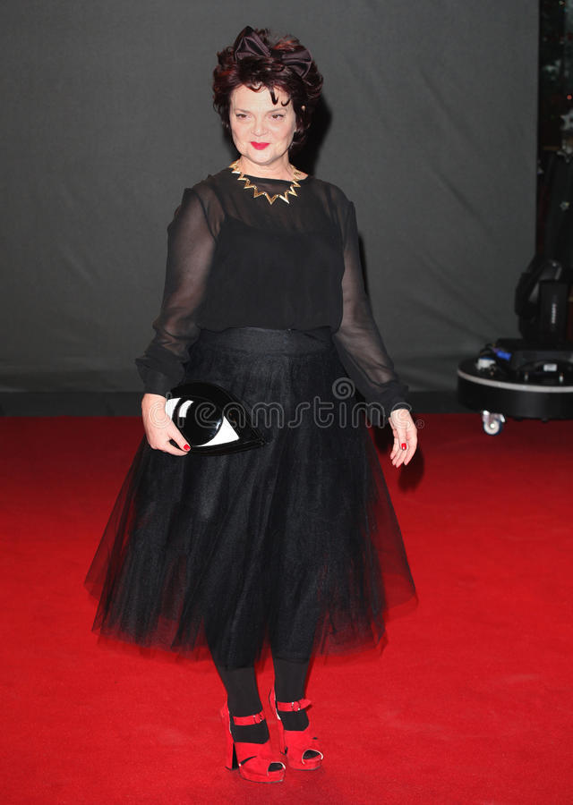Lulu Guinness. Arriving for the 2013 British Fashion Awards, at The London Coliseum, London. 02/12/2013 Picture by: Alexandra Glen / Featureflash stock image