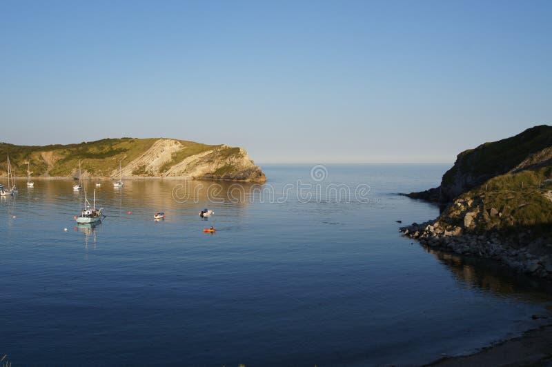 Lulworth小海湾 库存照片