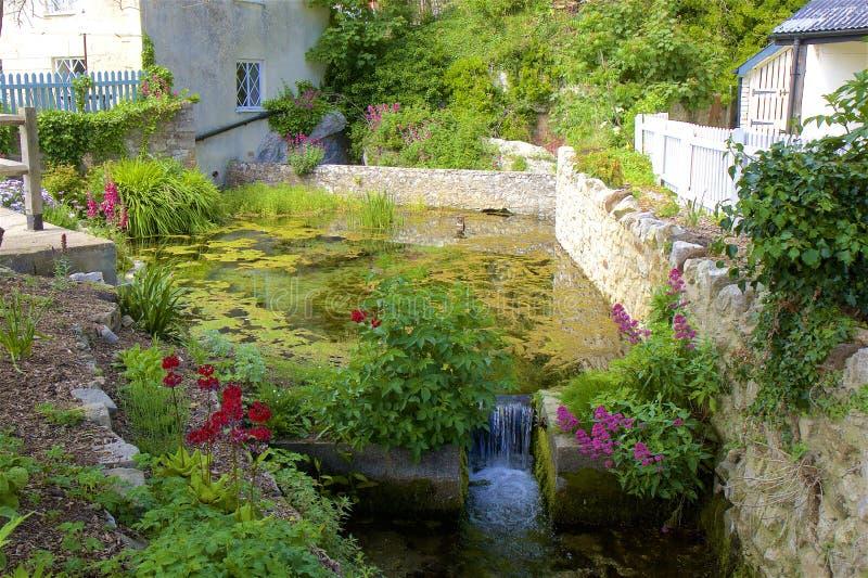 Lulworth Cove - Beautiful village in Dorset, UK stock photo