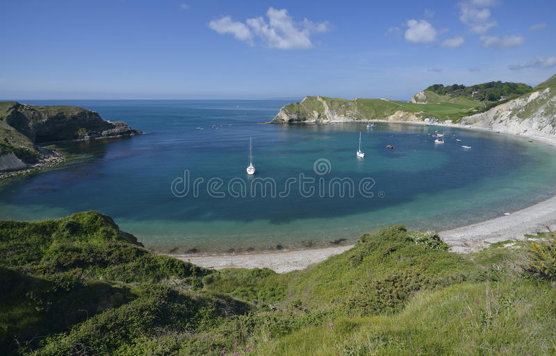 Lulworth Cove royalty free stock image