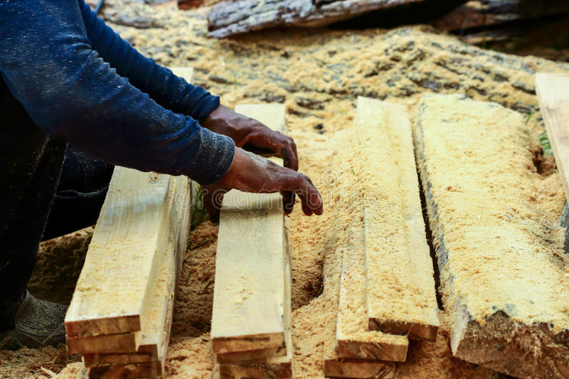 lumber image stock