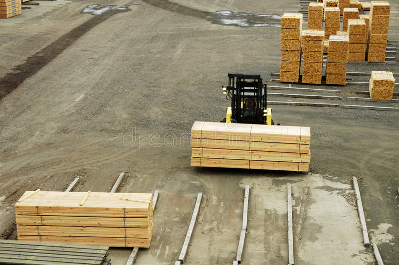 Lumber mill 6 royalty free stock image