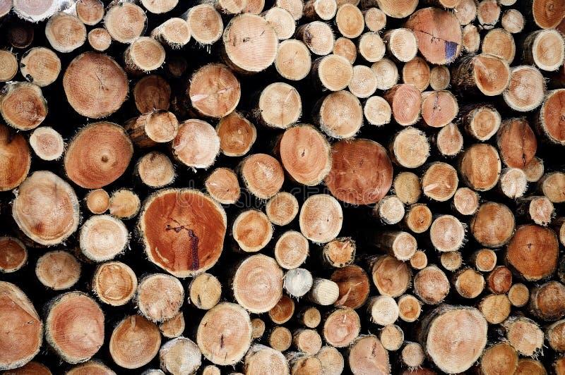 Lumber wood. Pile of cut lumber wood stock image