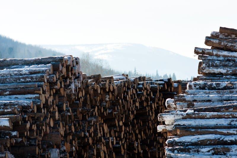 lumbering stock fotografie