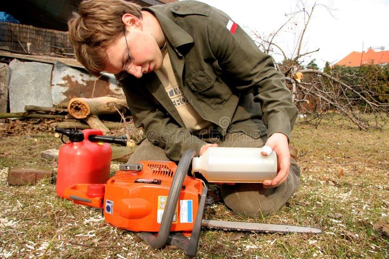 lumberjack славный стоковое фото rf