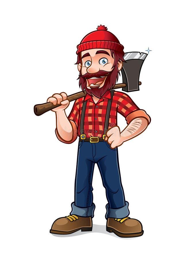 lumberjack libre illustration