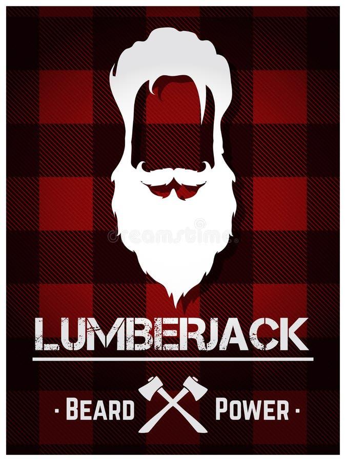lumberjack иллюстрация вектора