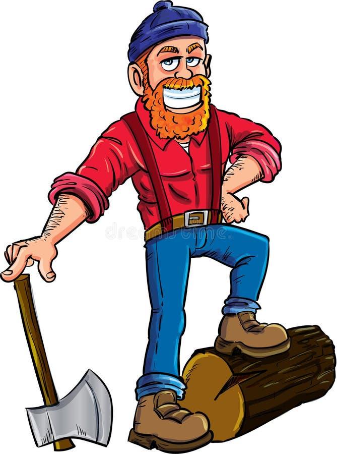 lumberjack cartoon character stock illustration illustration of rh dreamstime com Lumberjack Logo Lumberjack Clip Art