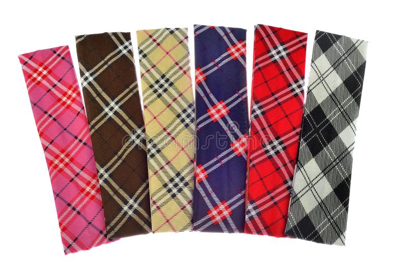 Lumberjack Plaid and Buffalo Check Patterns. Red, Black, White and Khaki Plaid, Tartan and Gingham Patterns. Trendy Hipster Style stock photos