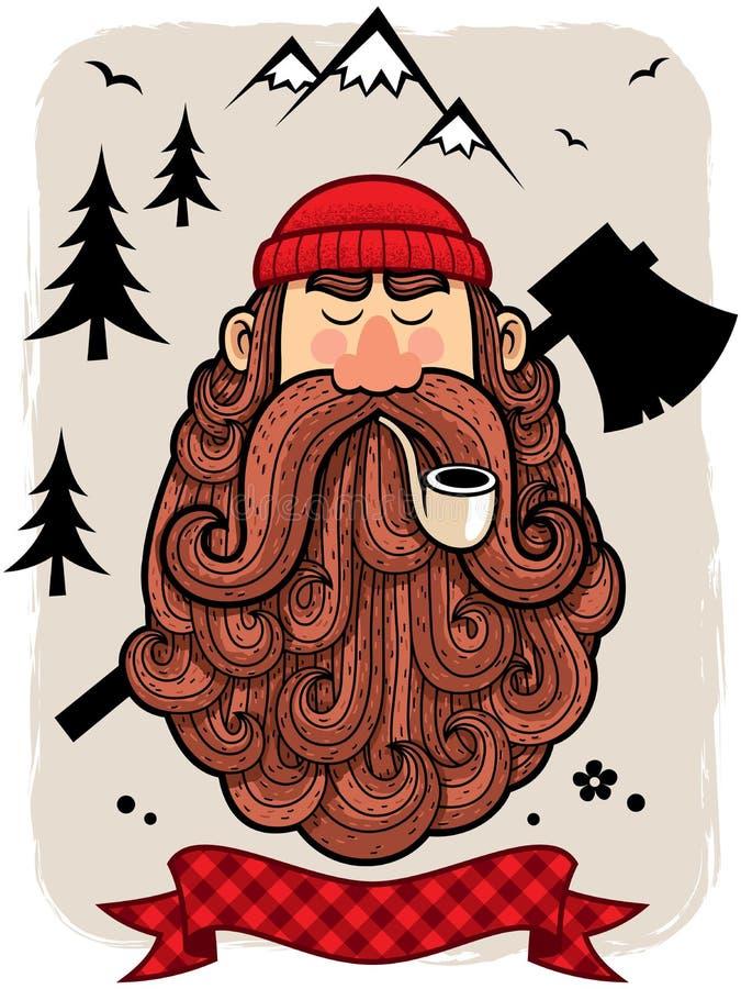 lumberjacks ilustracji
