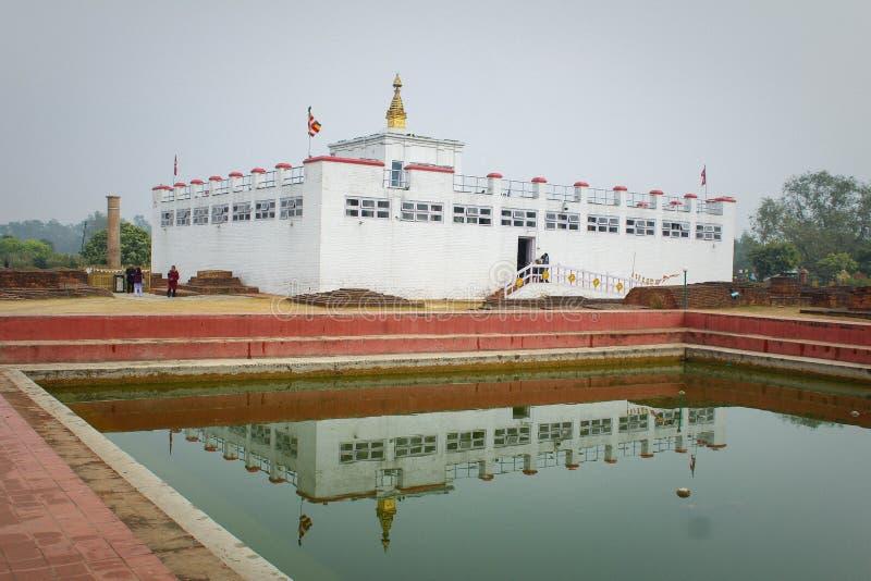 Lumbini stock photo