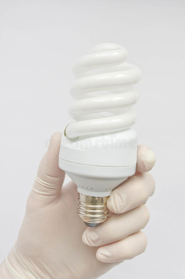 Lumenlampe lizenzfreies stockfoto