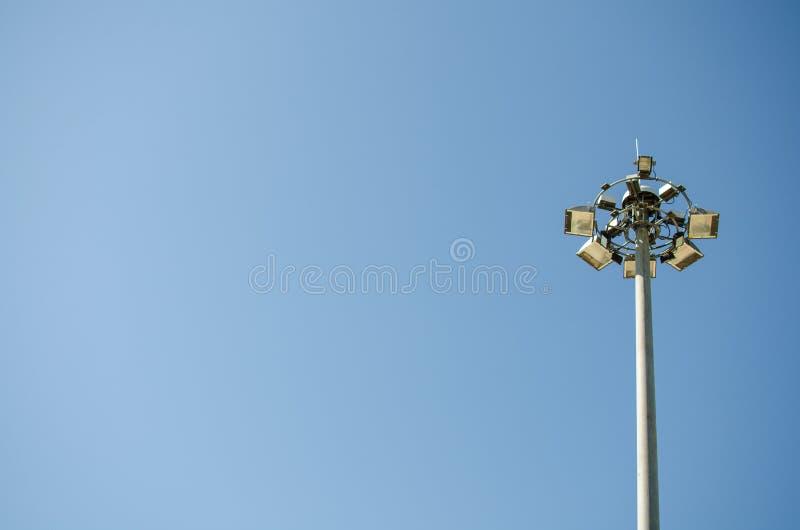 Lumière électrique LED images stock