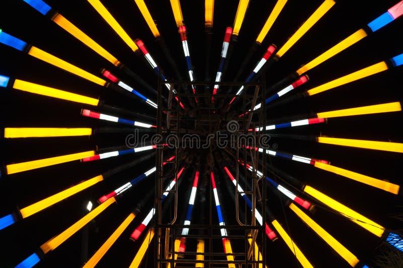 Lumière abstraite du feu photos stock