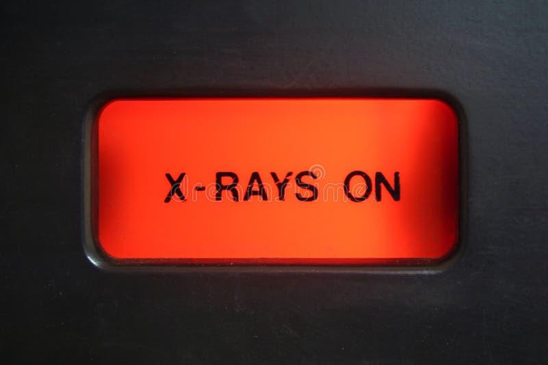 Lumière alerte de rayon X photos stock