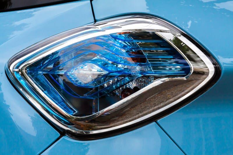 Lumière arrière de Renault Zoe images libres de droits
