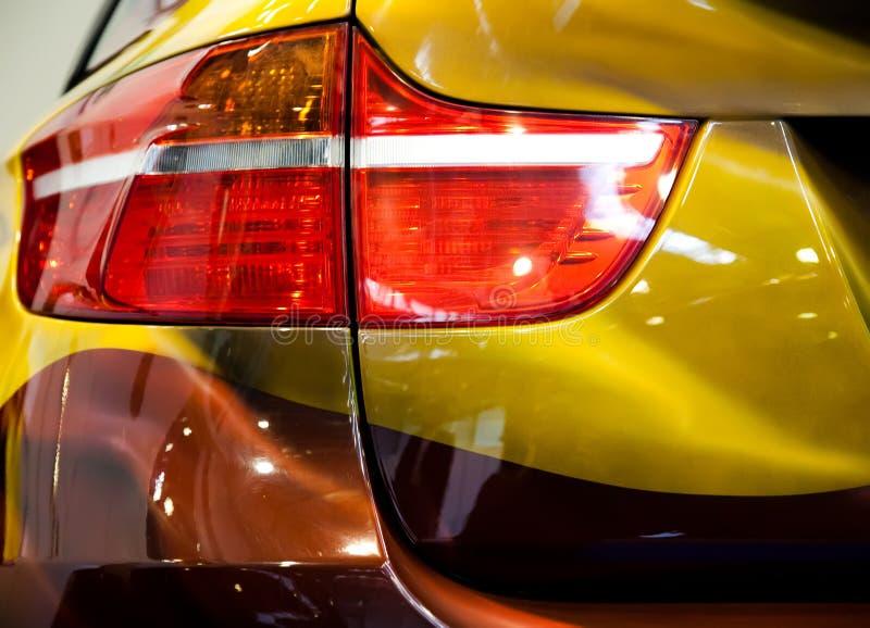 Lumière arrière de véhicule moderne image stock