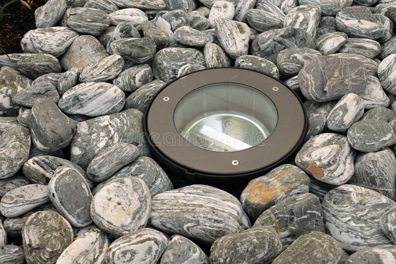 Lumière au sol décorée photos libres de droits