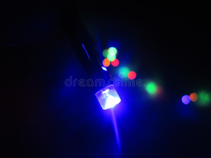 Lumière bleue photos libres de droits