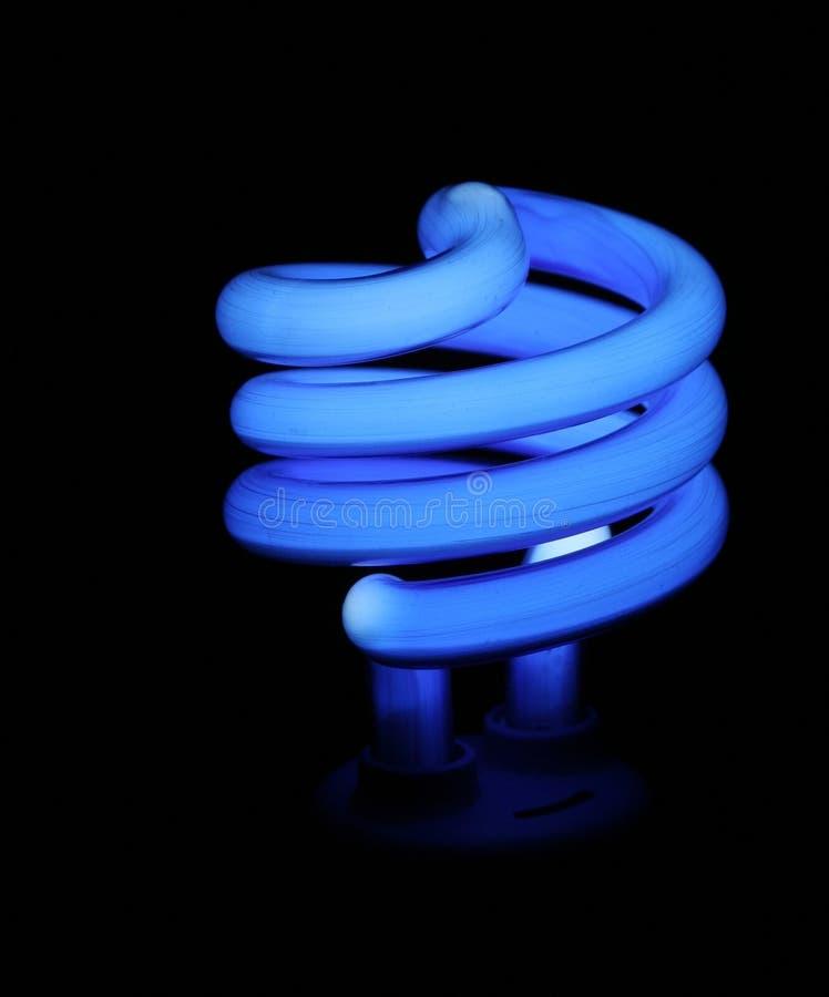 Lumière bleue d'épargnant d'argent images libres de droits