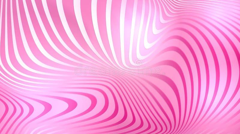 Lumière brillante de fond abstrait rose lumineux illustration stock